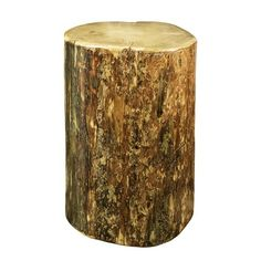 Montana Woodworks Glacier Country Collection Cowboy Stump, 25 Inches High Occasional Table *** Check this awesome product by going to the link at the image. (This is an affiliate link) Log Furniture, Living Room Furniture, Furniture Ideas, Tree Stump Table, Tree Stumps, Wood Stumps, Wood Tree, Glass Table, End Tables