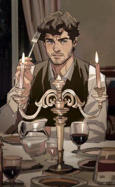 """Columbo on Twitter: """"Hannibal 🔪  #hannigram… """" Hannibal Lecter, Hannibal Tv Series, Nbc Hannibal, Will Graham Hannibal, Show Me A Hero, Hugh Dancy, Arte Horror, Art Inspo, Art Reference"""