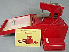 Child's Cragstan Sewing Machine