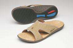 Spenco Women's Kholo PolySorb Total Support Sandal Straw/Java / Cork