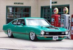 Hooniverse Obscure Muscle Car Garage – The Ford Maverick Grabber Ford Maverick, Rat Rods, Ford 2000, Vintage Cars, Antique Cars, Jeep, Sweet Cars, Us Cars, Car Ford