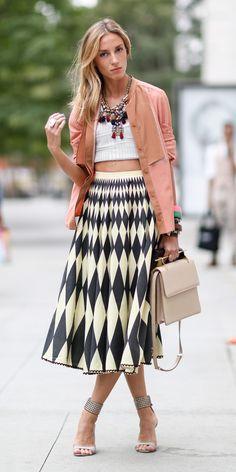 #NYFW Spring 2015 Street Style