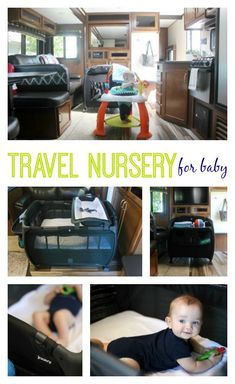 fc2a91e260e A Travel Nursery for Baby  Life in an RV Travel Camper