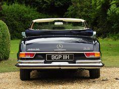 Mercedes Benz 280 Se 3 5 Cabriolet Uk Spec W111 11 1969 07