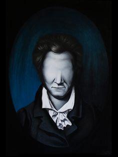 Portrait of Ernst Theodor Hoffmann  pastel on paper 70x100 cm