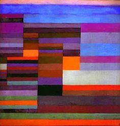 peinture abstraite : Paul Klee