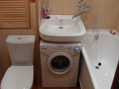 Móveis Panejados e Artefatos de A a Z : 15 ideias de onde colocar a máquina de lavar - Lavanderia CIA Banheiro