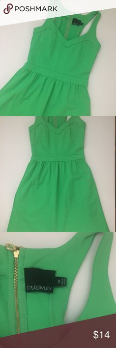 EUC XS Kelly green Cynthia Rowley sleeveless dress This is a beautiful shade of kelly green sleeveless dress by Cynthia Rowley. The back zipper is gold. Looks amazing with a pair of nude heels and a statement necklace. Cynthia Rowley Dresses