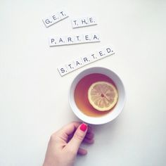 """""""Love and  friendship shouldn't be asked like a cup of water But offered like a cup of tea"""" (Zen Proverb) ... so get the partea started...❤"""