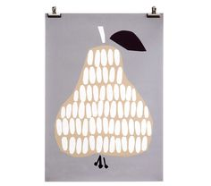Poster pear by Darling Clementine   www.limi-living.de