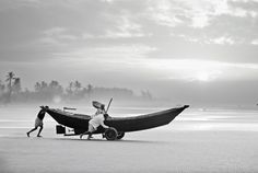 """fishermen in Bangladesh"" - Fotografie: Jakob Berr, photocircle.net"