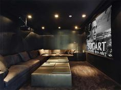 Alex Rodriquez's Miami Beach Theatre Room
