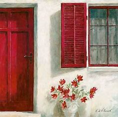 Fabrice De Villeneuve - Ruby Doorway