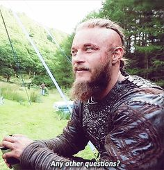 Any other questions? - fuck yeah Travis Fimmel