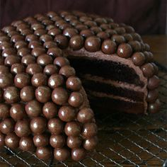 Chocolate Malt Cake.  I die.
