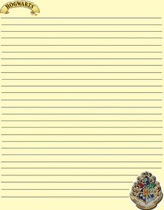 Themed lined paper