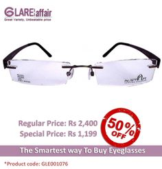 GLAREAFFAIR N-STAR N1103 BROWN EYEGLASSES http://www.glareaffair.com/eyeglasses/glareaffair-n-star-n1103-brown-eyeglasses.html  Brand : N-STAR  Regular Price: Rs2,400 Special Price: Rs1,199  Discount : Rs1,201 (50%)