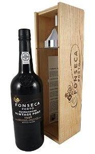 Fonseca Guimaraens 1998 Port Wine in Giftbox with Decanting Funnel 1998