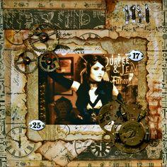 Victorian SteamPunk  ~~Scraps of Darkness~~ - Scrapbook.com