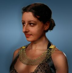 An attempted digital reconstruction of Cleopatra's face, based on ancient sculptures and coins.