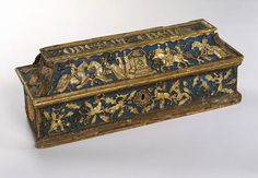 Onesta e Bella    Object:  Coffret    Place of origin:  Florence, Italy (made)    Date:  ca. 1400 (made)