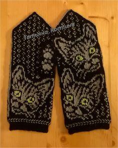 Клуб ЛОПАПЕЙСА Knitting Projects, Knitting Patterns, Crochet Patterns, Wrist Warmers, Knit Mittens, Cat Pattern, Patterned Shorts, Knit Crochet, Sewing
