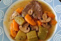 Recipe Images, Pot Roast, Thai Red Curry, Ethnic Recipes, Food, Carne Asada, Roast Beef, Essen, Meals