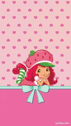 charlotte aux fraises Strawberry Shortcake Pictures, Strawberry Shortcake Characters, Strawberry Shortcake Party, Wallpaper Rosa, Locked Wallpaper, Iphone Wallpaper, Looney Tunes Wallpaper, Maleficent Art, Barbie Theme
