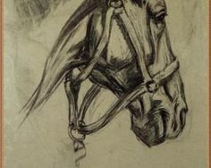 Head of the horse - Franz Marc
