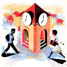http://www.boumbang.com/icinori/ © Icinori, Illustration pour le magazine Muze
