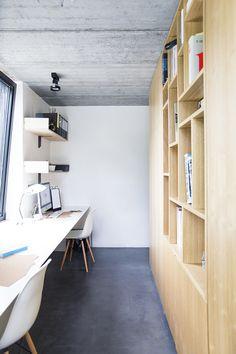 MV Architecte interieur - Amenagement bureau double