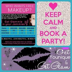 Who wants to earn free or half priced makeup??   Hosting a party is easy and ONLINE!!  No need to leave your home!! Email me at makeupdivamaria@gmail.com  so we can set it up. Have you been wanting to try our wonderful mascara?  Now an perfect time!
