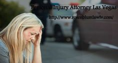 For More Details Visit Us : http://www.rOsenblumlawlv.com/ There isn't any magic formula, or perhaps process, by which someone may foresee along with assurance, how much money an accident circumstance may be valued at. This way the Personal Injury Attorney Las Vegas can give his knowledge to the victim and make him stronger. This is helpful for the victim and the attorney also helps him by negotiating with the insurance company for the claim.