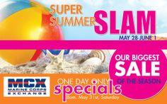 Super Summer SLAM Sale, Quantico MCX