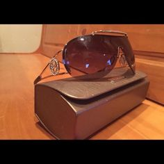 Bebe sunglasses Like new, no diamonds missing or scratches on the lens. bebe Accessories Glasses
