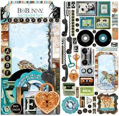 BoBunny - Life In Color Collection - Noteworthy Journaling Cards