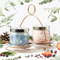 Blue Spruce 3-Wick Jar Candle - 2 for £34.50!