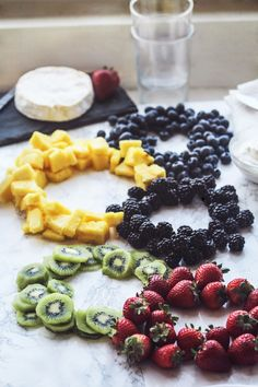 It's pretty much a fact that any good Olympics party needs a good Olympics-themed snack. So consider this tasty and simple fruit appetizer yours from the opening ceremony through the closing one — and for every exciting event in between.