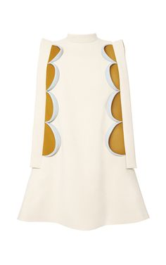 Paneled A-Line Mini Dress by Delpozo Now Available on Moda Operandi
