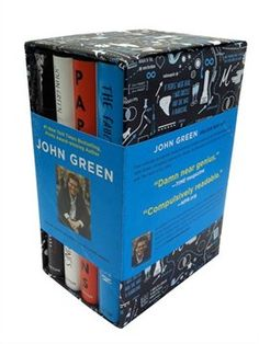 John Green Box Set: someone get me this for Christmas.... Please?? I will love you forever :)