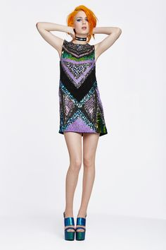Get glowing in striking party perfect pieces made to shine by our latest #BrandCrush Essentiel