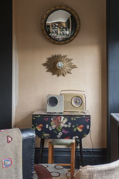 There is no grand plan here. Jilly just buys what she likes from antique markets and finds a home for it #interiors #WTinteriors
