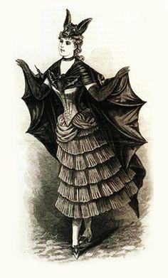 Victorian costumes c. 1880s