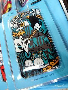 Hiphop crow RAVEN. Smart phone hard case design. Designed by doldol
