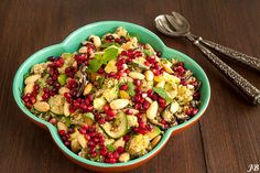 Carolines blog: Salade met quinoa, amandel