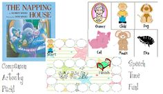 Speech Time Fun: The Napping House: Companion Activity Pack!