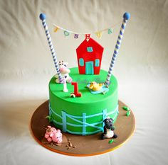 Joshua's farm cake by Its A Cake Thing (Jho), via Flickr