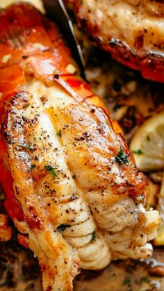 Lobster Dishes, Lobster Recipes, Fish Dishes, Fish Recipes, Seafood Recipes, Keto Recipes, Dinner Recipes, Cooking Recipes, Lobster Meat