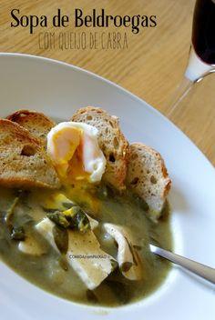 COMIDAcomPAIXÃO : Sopa de Beldroegas com Queijo de Cabra [e sabor a memórias de…