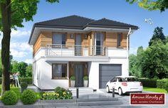 2 Storey House Design, Modern House Design, Home Design Plans, Facade House, Small House Plans, House 2, Home Fashion, My Dream Home, Exterior Design